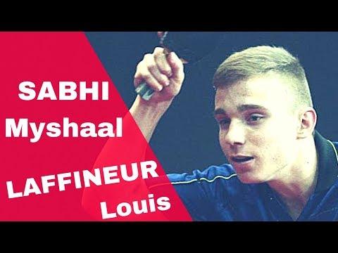 LAFFINEUR Louis - SABHI Myshaal FRANCE Junior OpenTABLE TENNIS