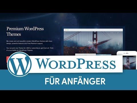 Einstieg in WordPress (Anfänger-Tutorial) Eigene Webseite/Blog/Shop erstellen!