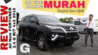 Explorasi New FORTUNER Tipe G Paling Murah Toyota Indonesia