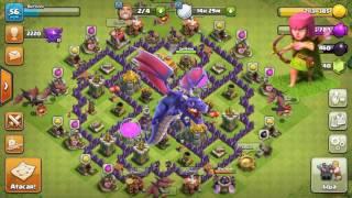 Como Tirar as Tropas do Castelo do Clã no Cv7 - Clash Of Clans