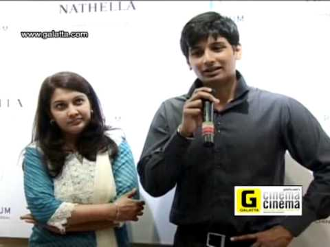 Jiiva and Supriya Celebrates Platinum Day of Love at Nathella Jewellery