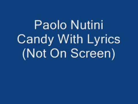 Paolo Nutini Candy With Lyrics