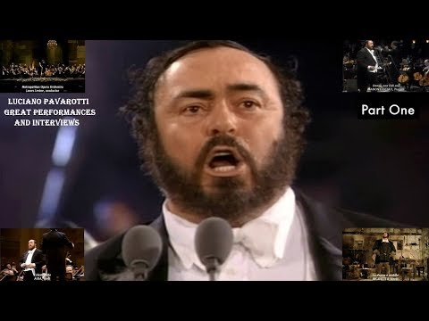 LUCIANO PAVAROTTI – SOME OF HIS GREAT PERFORMANCES MIXED WITH INTERVIEWS FROM THE GREAT TENOR