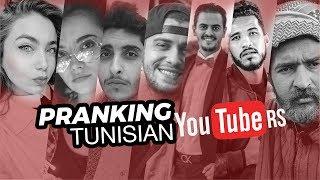 Pranking Tunisian YouTubers