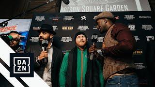 Canelo vs. Rocky Fighter Arrivals