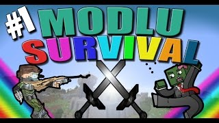KATİL TAVUK!   Minecraft Modlu Survival   Bölüm 1