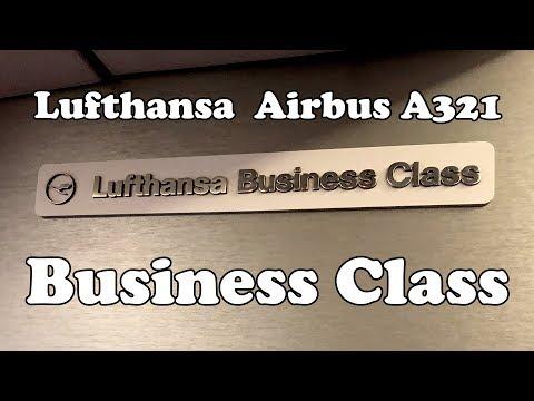 Lufthansa Business Class, Prague - Frankfurt, Airbus A321