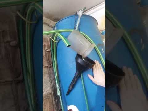 Сделать на даче бочку с водой с теном 1.5Кв  на севере