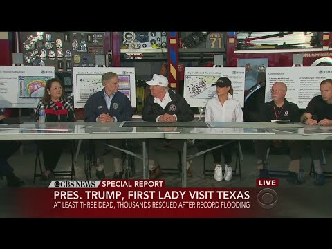 Special Report: President Trump Tours Texas, Talks Harvey Relief