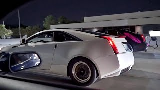 HEAVY HITTERS HIT THE STREETS! Twin Turbo CTS-Vs, 1000hp Mustang, 1300+hp GT-R & MORE!