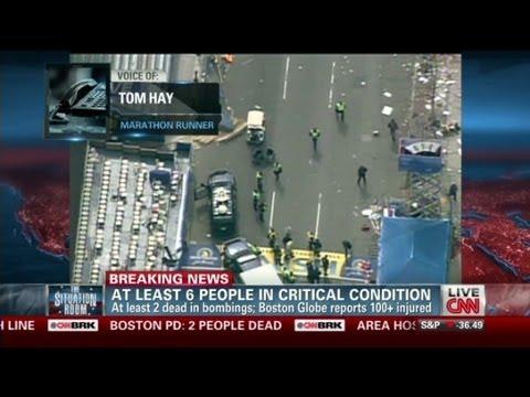 Boston Marathoner: Bombings 'absolutely Surreal'