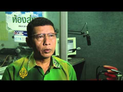 Thai radio station is beacon for peace