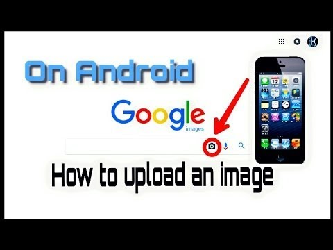 How to upload an image in Google in mobile