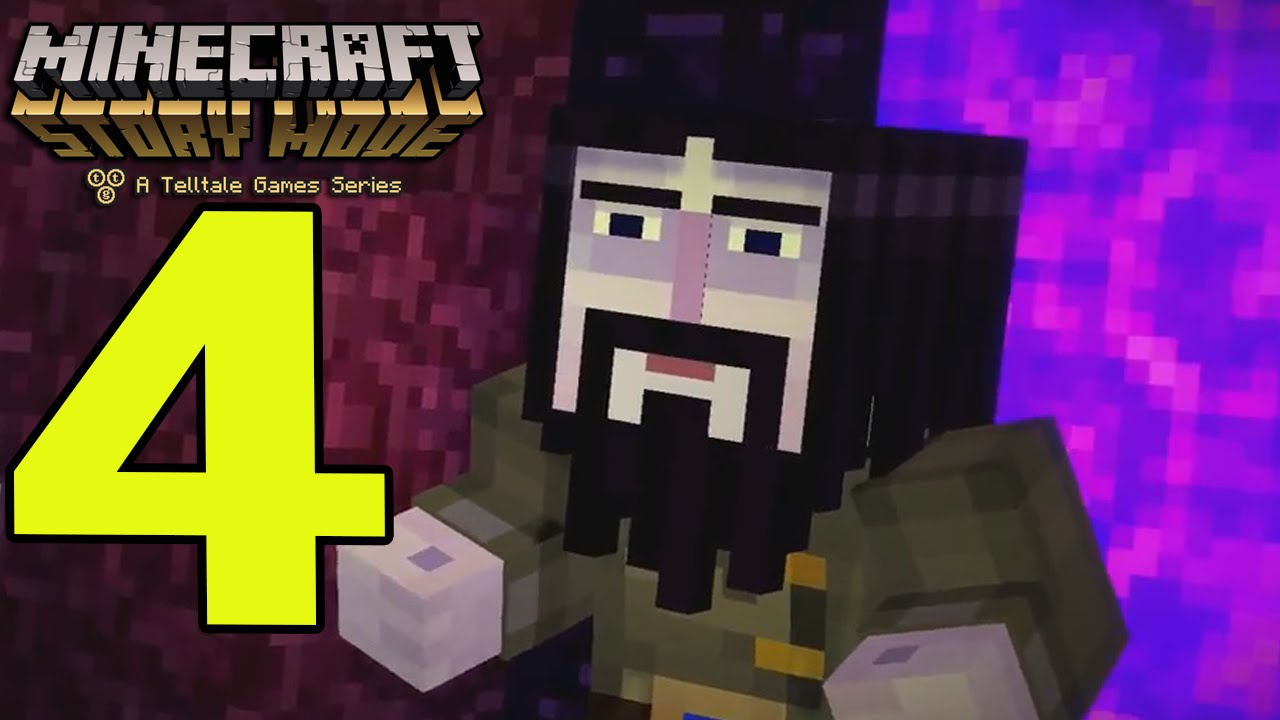 Minecraft Story Mode Walkthrough Part 4 Wither Storm Mob Boss