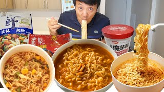 BEST & WORST INSTANT NOODLES! Trying EVERY Instant Noodle Quest (Part 1)