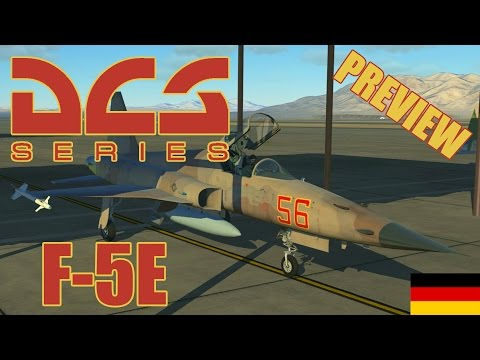 DCS: F-5E Tiger II - Exklusive Preview & Erster Eindruck [De