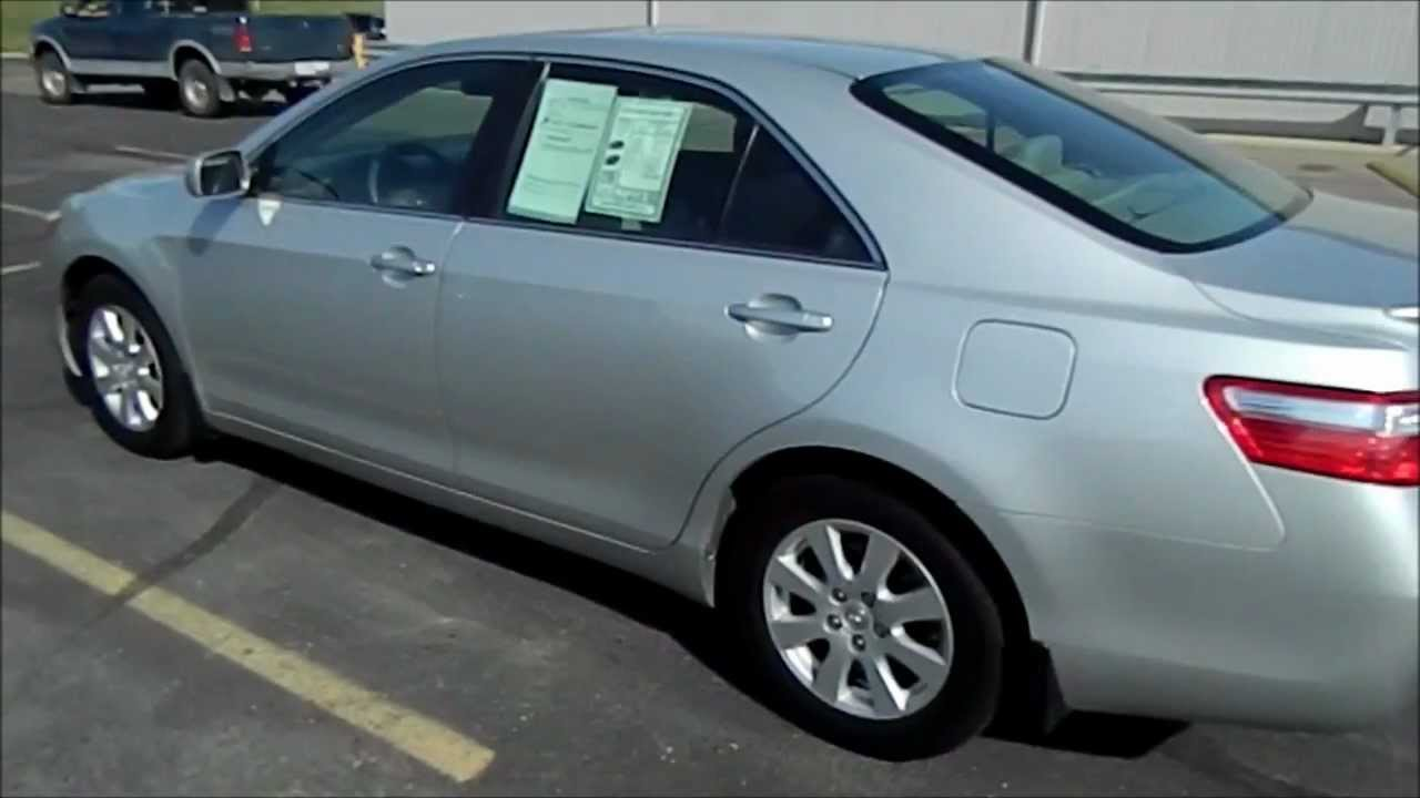 2007 Toyota Camry XLE 4 Cyl