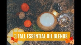Fall Essential Oil Recipes!!