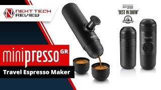 MiniPresso GR Travel Espresso Maker Review - NTR