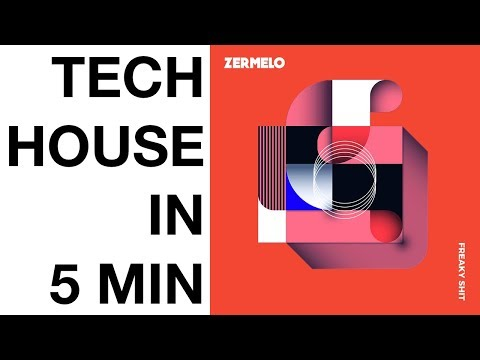 Tech House Tutorial - How To Produce Tech House In 5 Minutes - FREE Samples