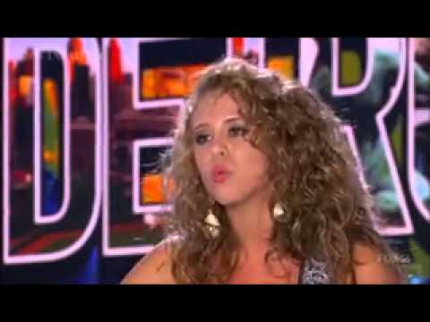 Melanie Porras ~ Fever / Wanted Dead Or Alive ~ American Idol 2014 Auditions, Detroit (HD)