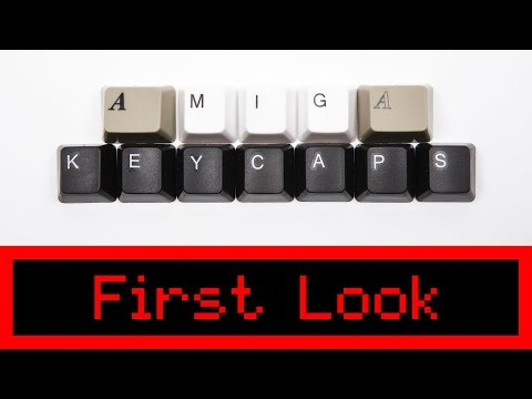 FIRST LOOK: New Commodore Amiga Keycaps from A1200.net