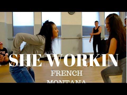 She Workin @FrenchMontana Ft. @MarcEBassy | Dana Alexa Choreography