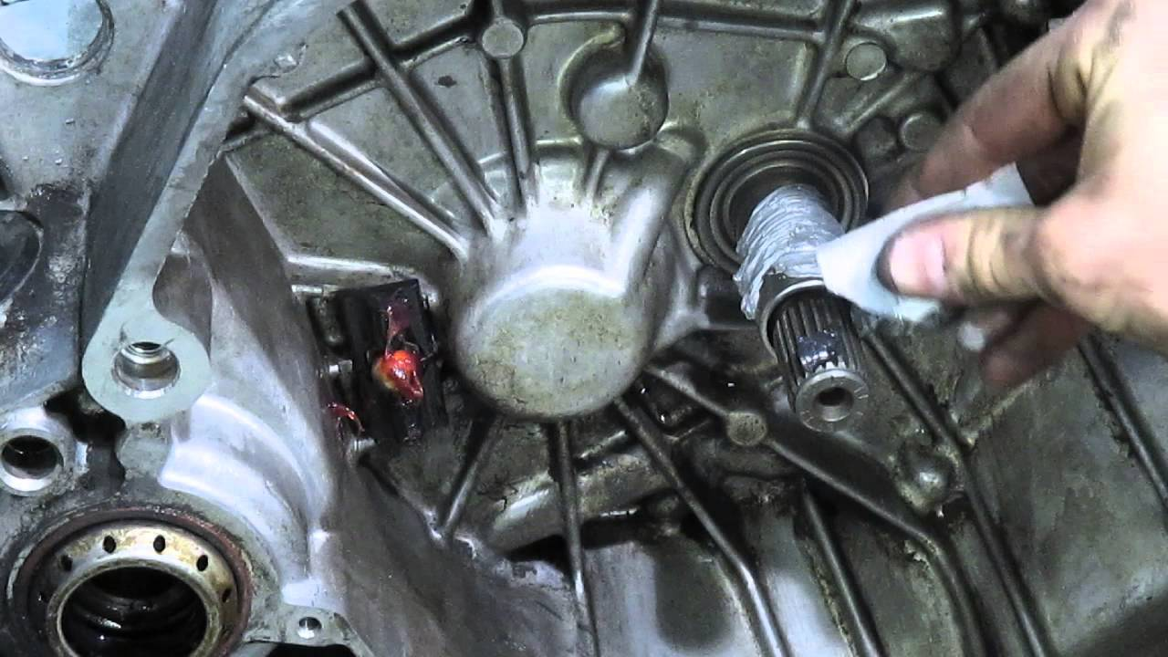 Throw Out Bearing And Clutch Fork Lubricate Youtube