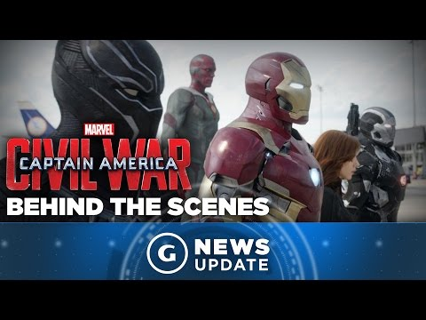 Captain America: Civil War Images Go Behind the Scenes - GS News Update