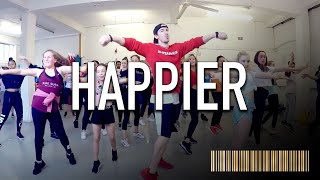 HAPPIER by Marshmello ft Bastille | Beginner Dance CHOREOGRAPHY