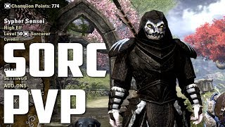 Sorcerer Morrowind PvP - Elder Scrolls Online ft. SypherPK