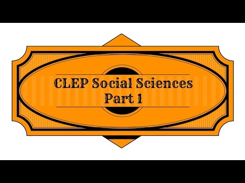 Best Free CLEP Social Sciences And History Part 1 Study Guide