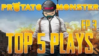 Pubg top 5 plays episode 3 | playerunknown's battlegrounds top plays