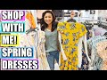 JCPenney Shop With Me & Haul - Spring Dresses!
