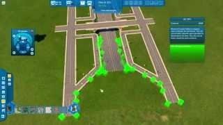 Cities XL / XXL - Building a HIGHWAY CHANNEL WITH BRIDGES