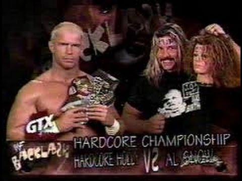 Image result for backlash 1999 Hardcore Championship