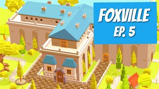 FoxVille Episode 5 | the Town Hall | Pocket Build Collaboration