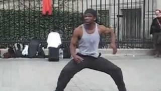 Incredible Paris Street Dancer