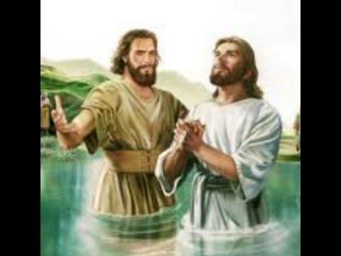 desenho de jesus É batizado por joÃo batista youtube