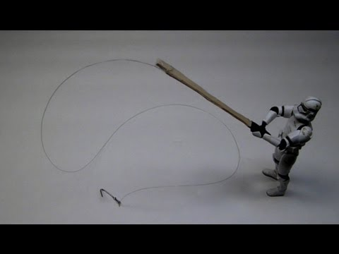 How To Make A Toy Fishing Rod
