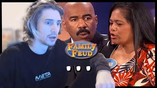 Family Feud answers that left xQc Speechless | Compilation
