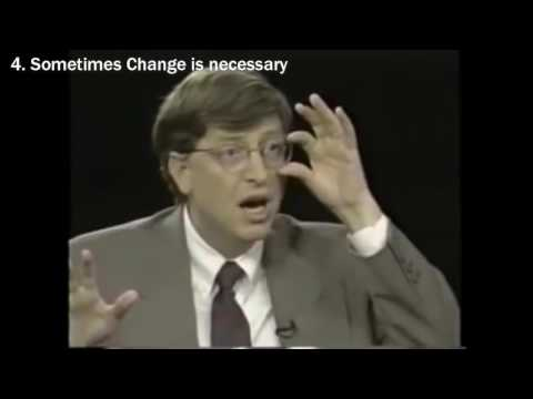 Bill Gates Gives His Best Advice - Motivational