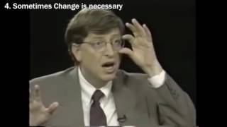 Bill Gates Gives Hİs Best Advice - Motivational