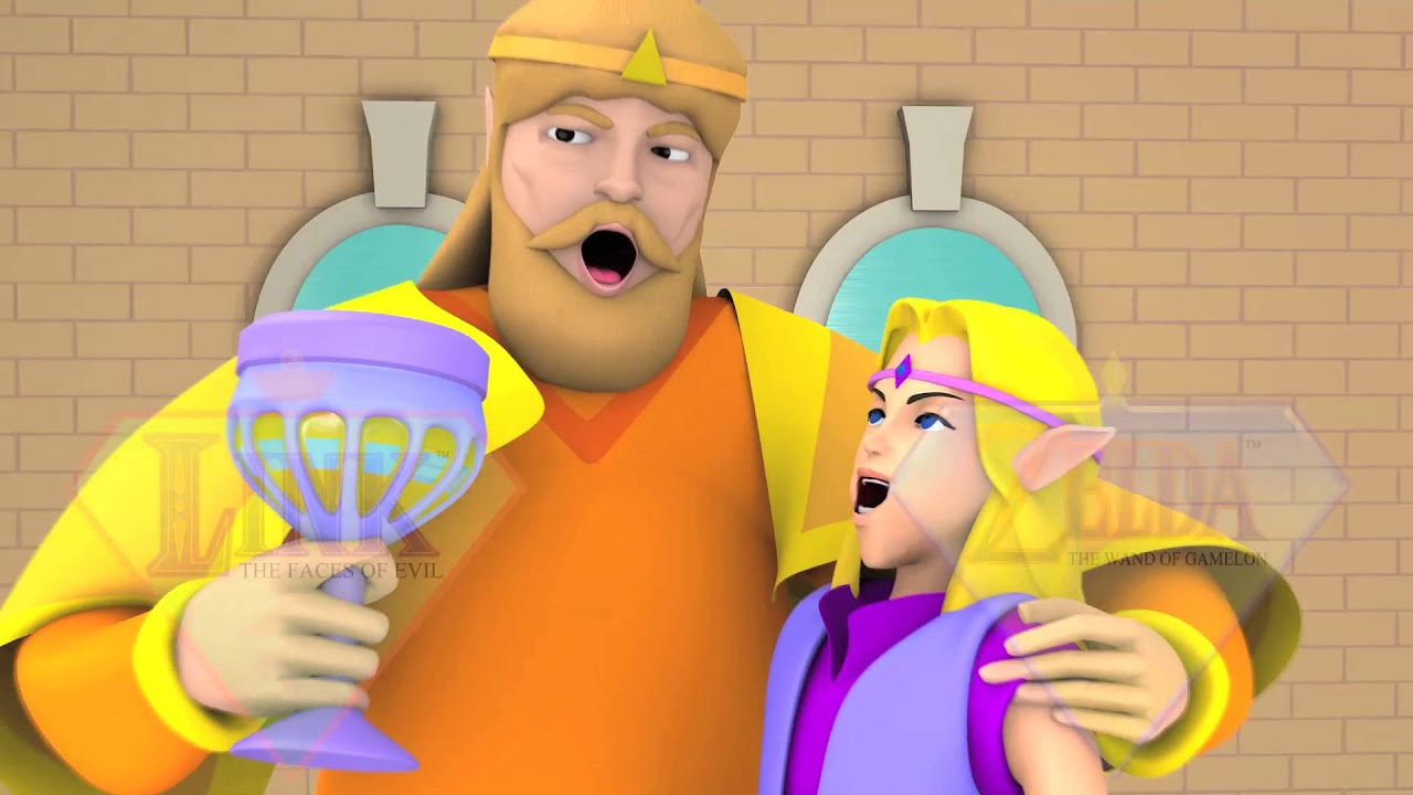 link the faces of evil zelda the wand of gamelon hd trailer