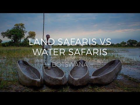 Land Safaris vs. Water Safaris in Botswana | Rhino Africa