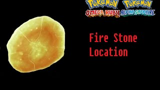 How To Find The Fire Stone Pokemon Omega Ruby Alpha Sapphire Location