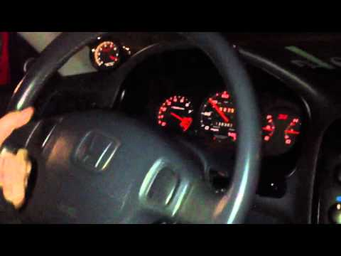 99 Honda Civic Si b16a launch EM1