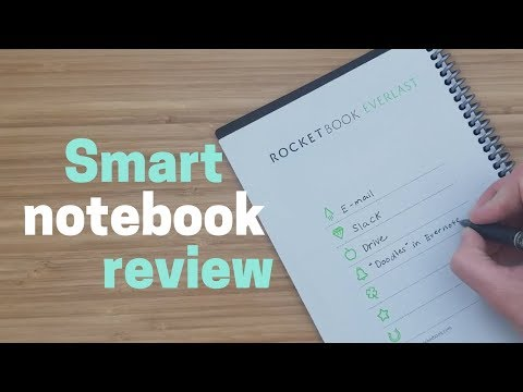 Rocketbook Everlast Review: the Never-Ending Notebook