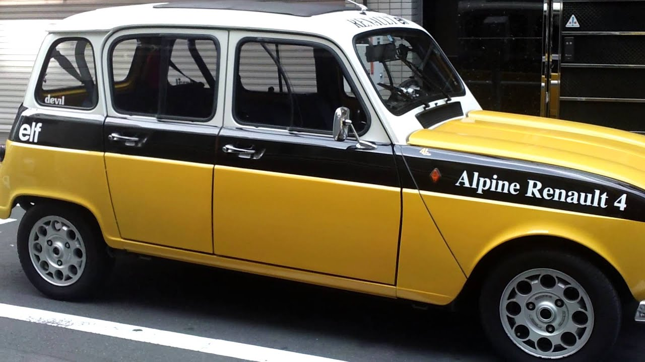 Bien connu Alpine Renault 4 - YouTube VL75