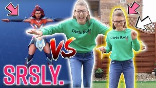 FORTNITE DANCE CHALLENGE IN REAL LIFE!! (HILARIOUS!!)